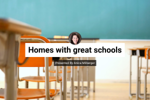 Homes with great schools